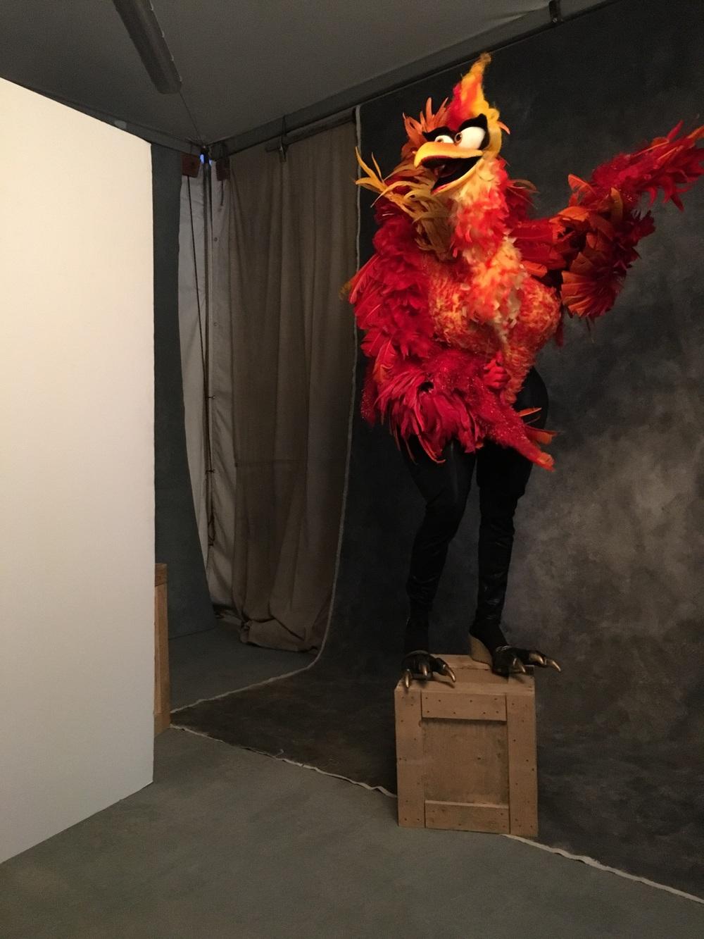 Miss Fuego Firebird shooting with Andrew Haagen at Coachella