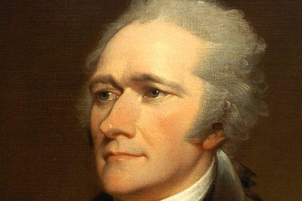 Alexander Hamilton's Wistful Gaze