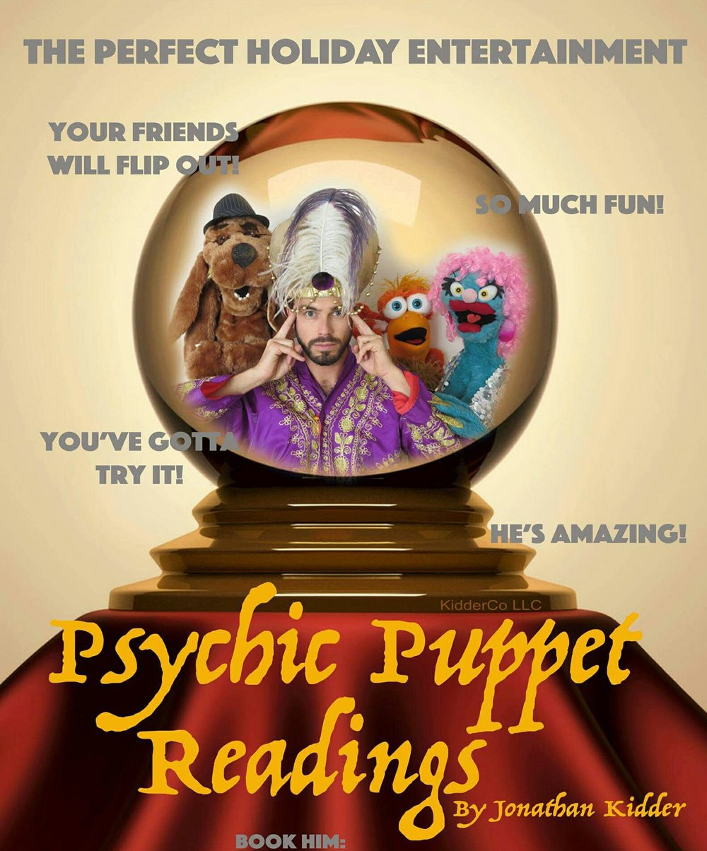 Jonathan Kidder as the Psychic Puppeteer