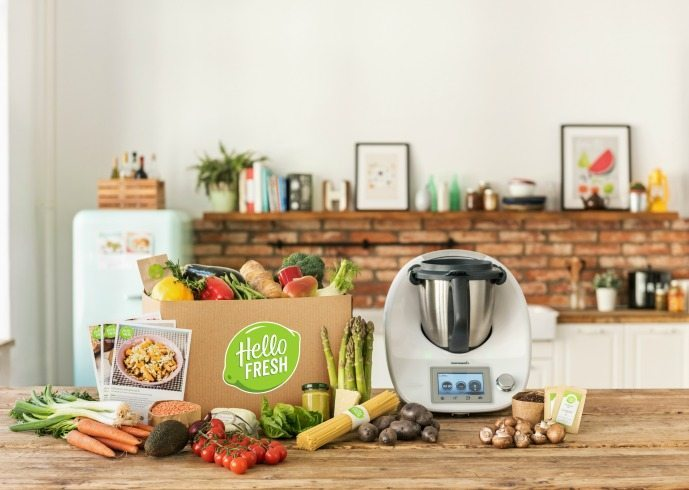 HelloFresh and Thermomix enter partnership