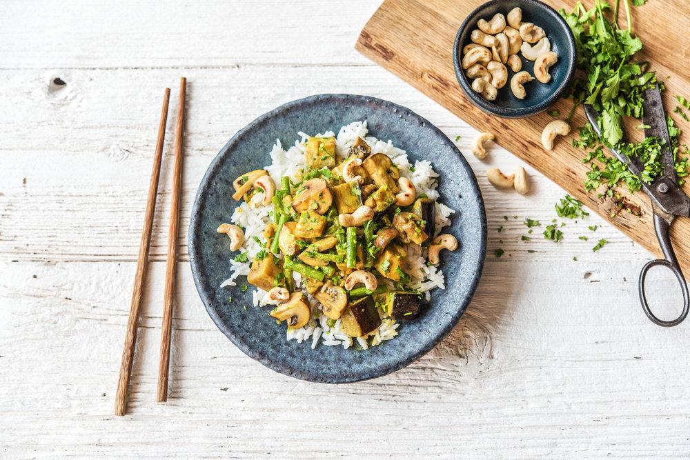 Thai-Massaman Inspired Curry