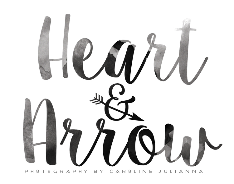 Heart & Arrow by Caroline Julianna