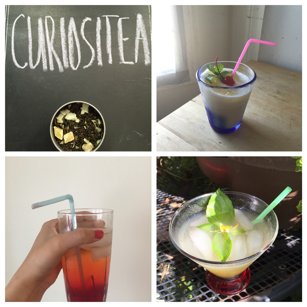 Though iced tea is always a great go- to, go bold with these 3 cur•ios•i•tea infused cocktails this summer!