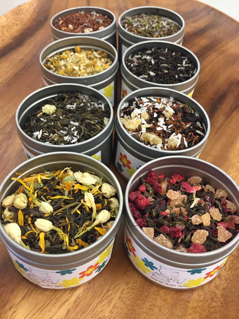 We've included a diverse range of songs for our diverse range of flavors so you are bound to find a tune that's quite literally your cup of tea!