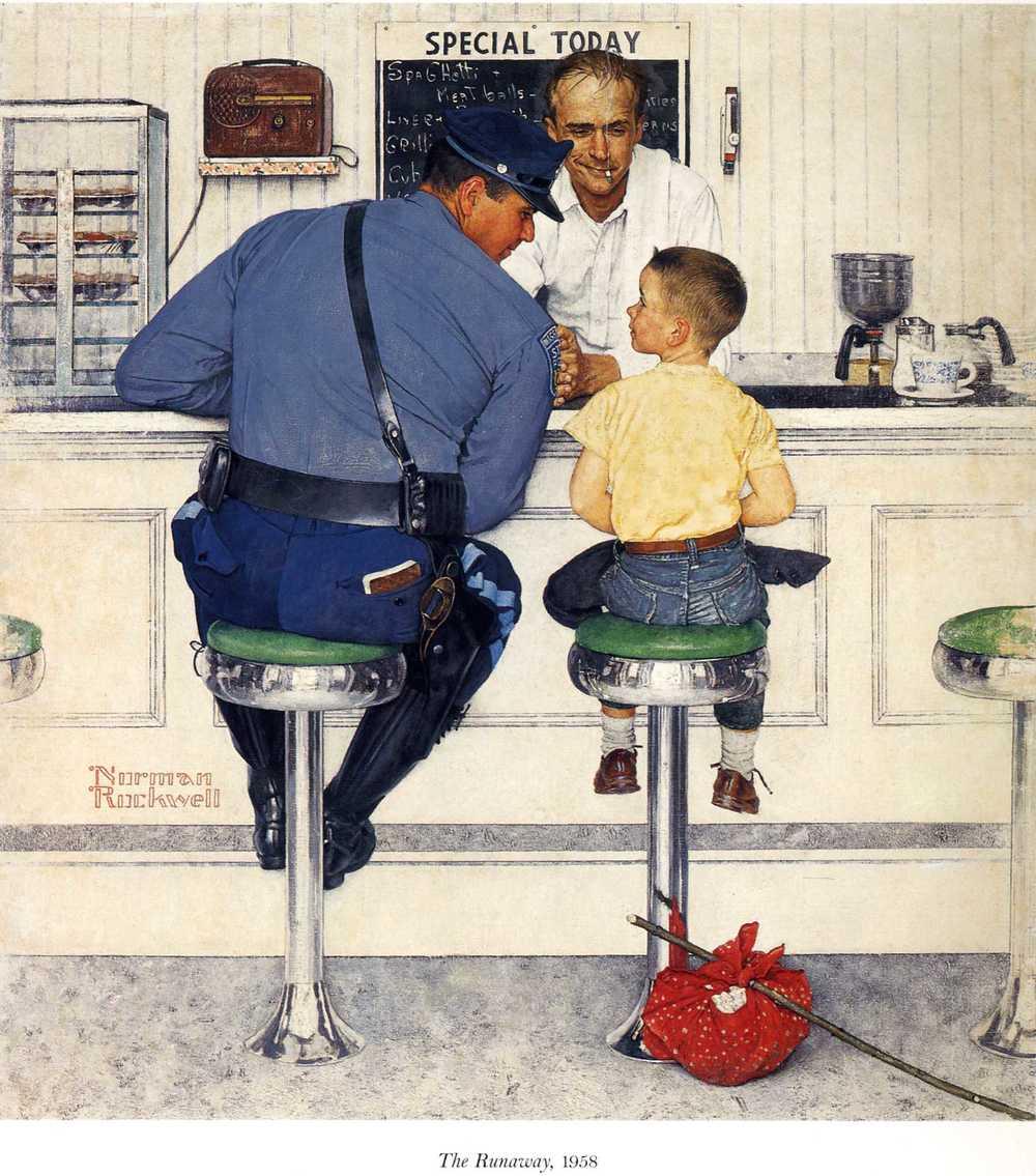 Arte de Norman Rockwell