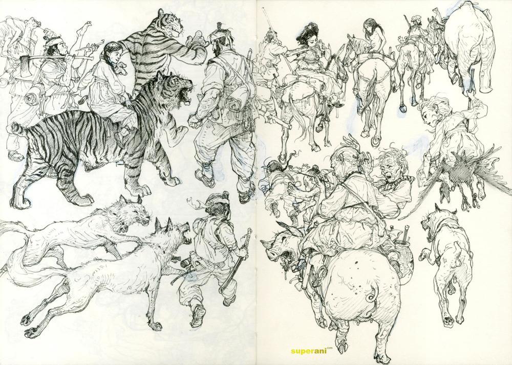 Arte de Kim Jung Gi