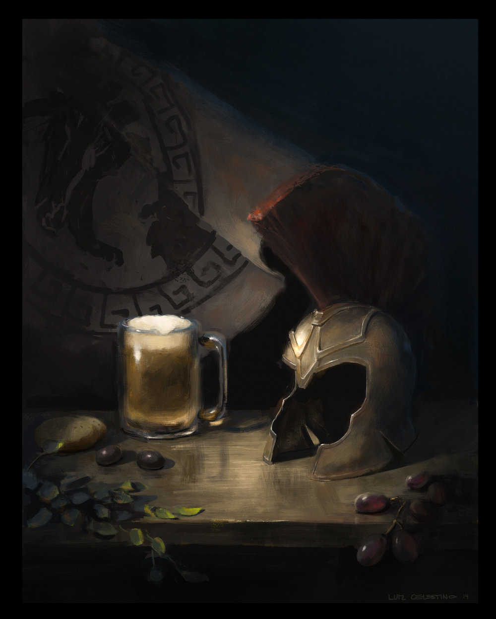 Arte de Luiz Celestino