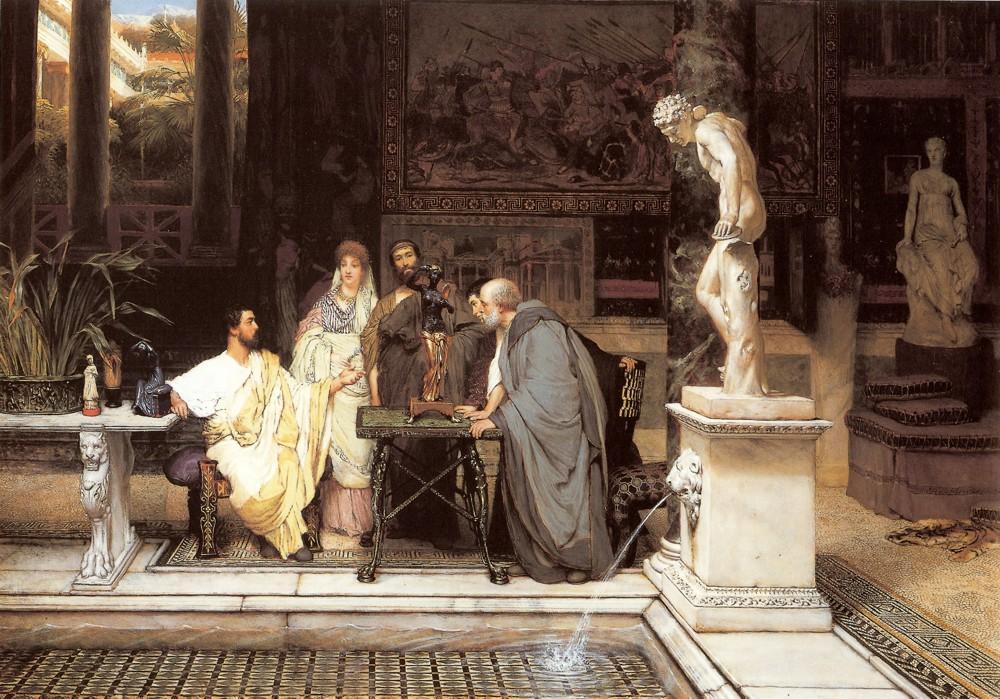 Arte de Lawrence Alma Tadema