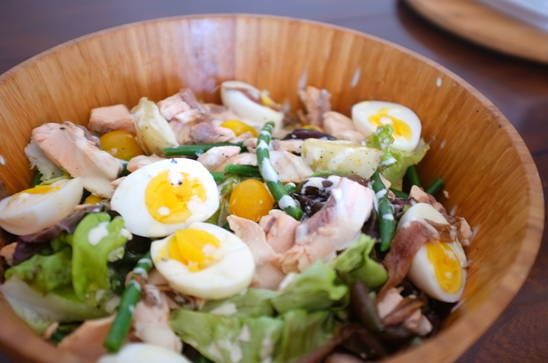 2 Salmon Salad Nicoise - Hill Reeves