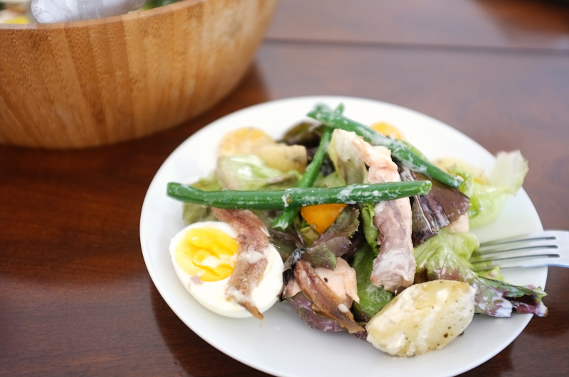 Salmon Salad Nicoise - Hill Reeves