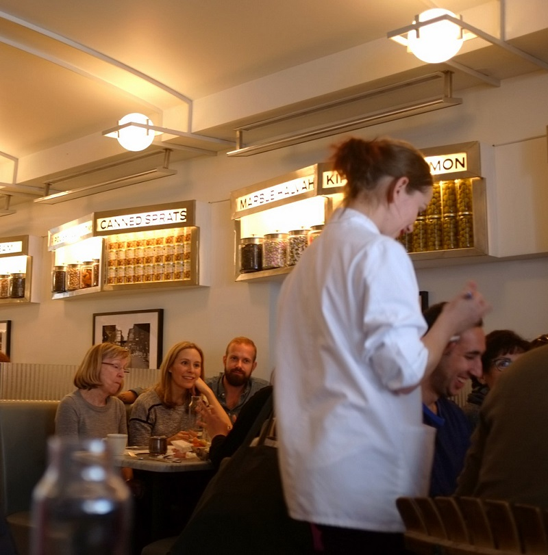 Russ and Daughters Cafe Interior