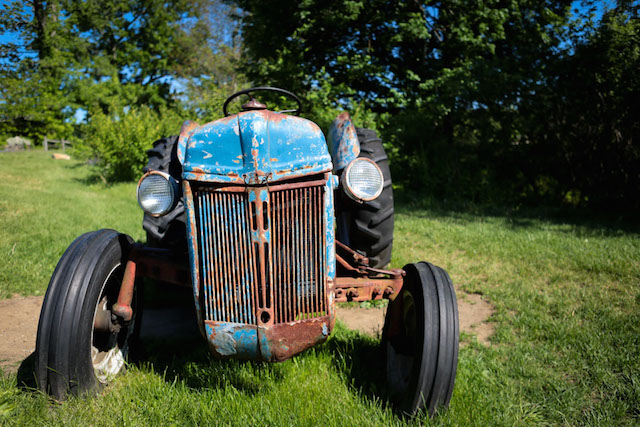 Stone Barns Tractor - Hill Reeves; photo by Alexis Buatti Ramos