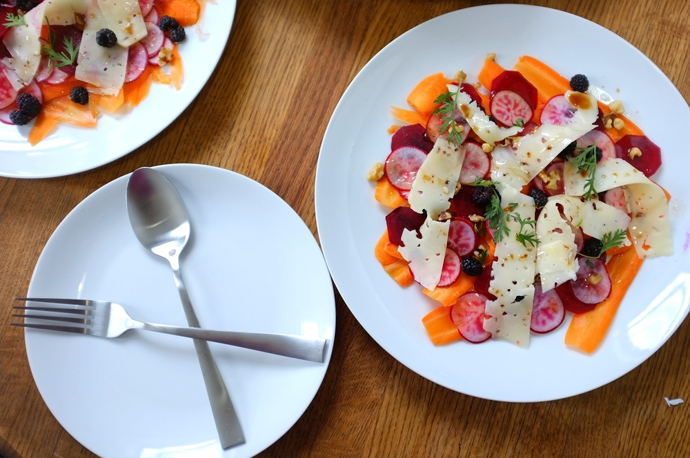 Summer Root Vegetable Salad - Hill Reeves