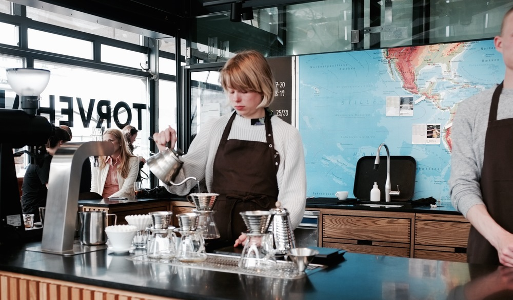 The Coffee Collective in Torvehallerne, Copenhagen - Hill Reeves