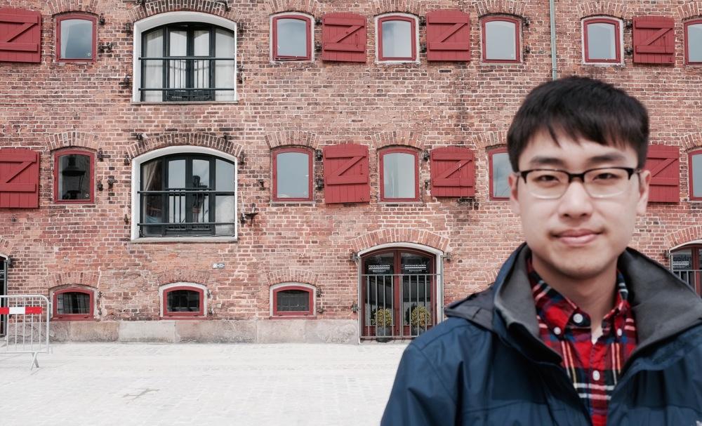 Danny in Copenhagen