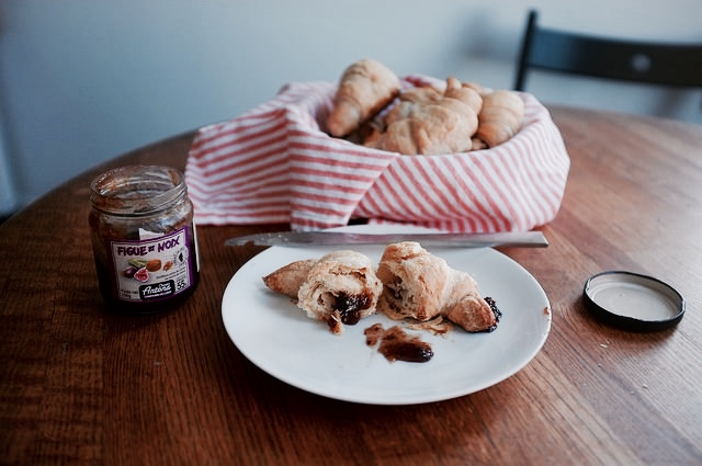 Fig Croissants for Try the World's Paris Box - Hill Reeves