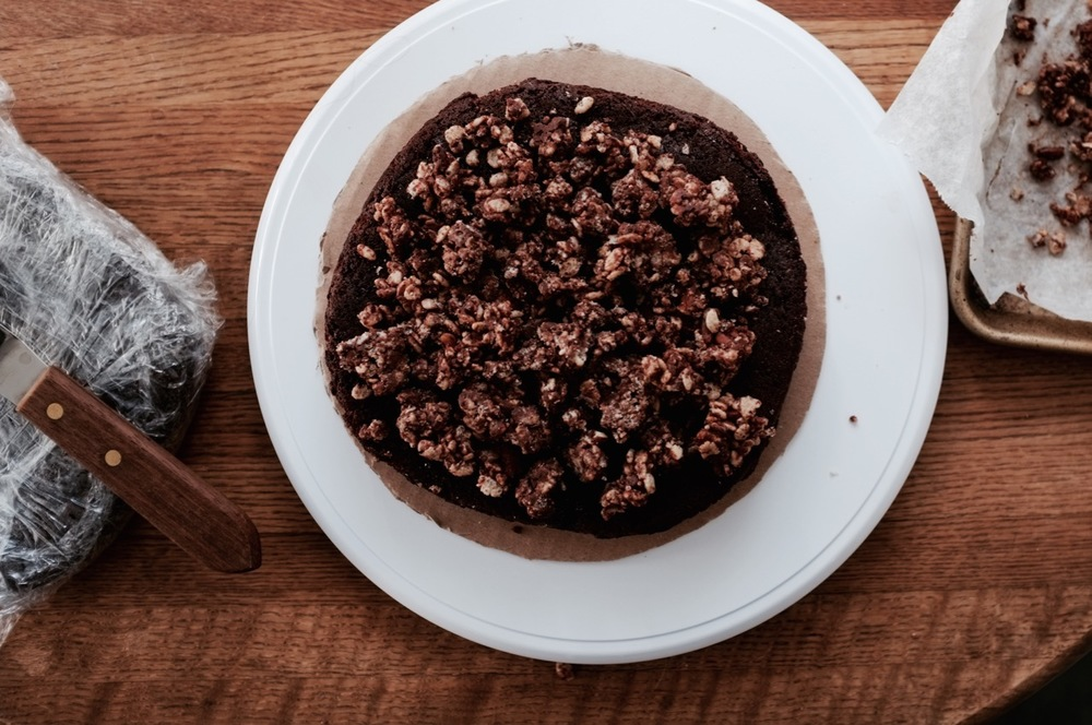 Chocolate Maple Cereal Crunch Cake - Hill Reeves