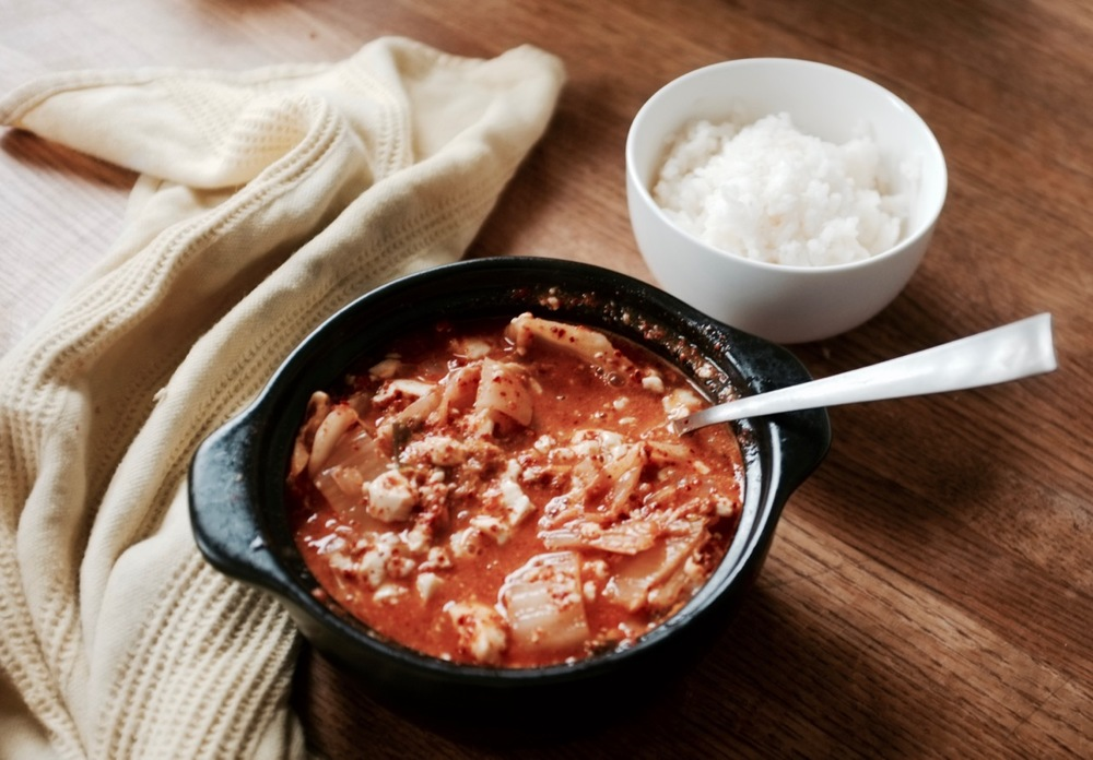 ... tofu and spinach spicy korean tofu kimchi spicy korean tofu kimchi