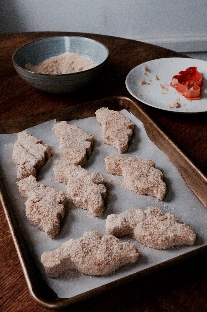 Homemade Dino Nuggets - Hill Reeves
