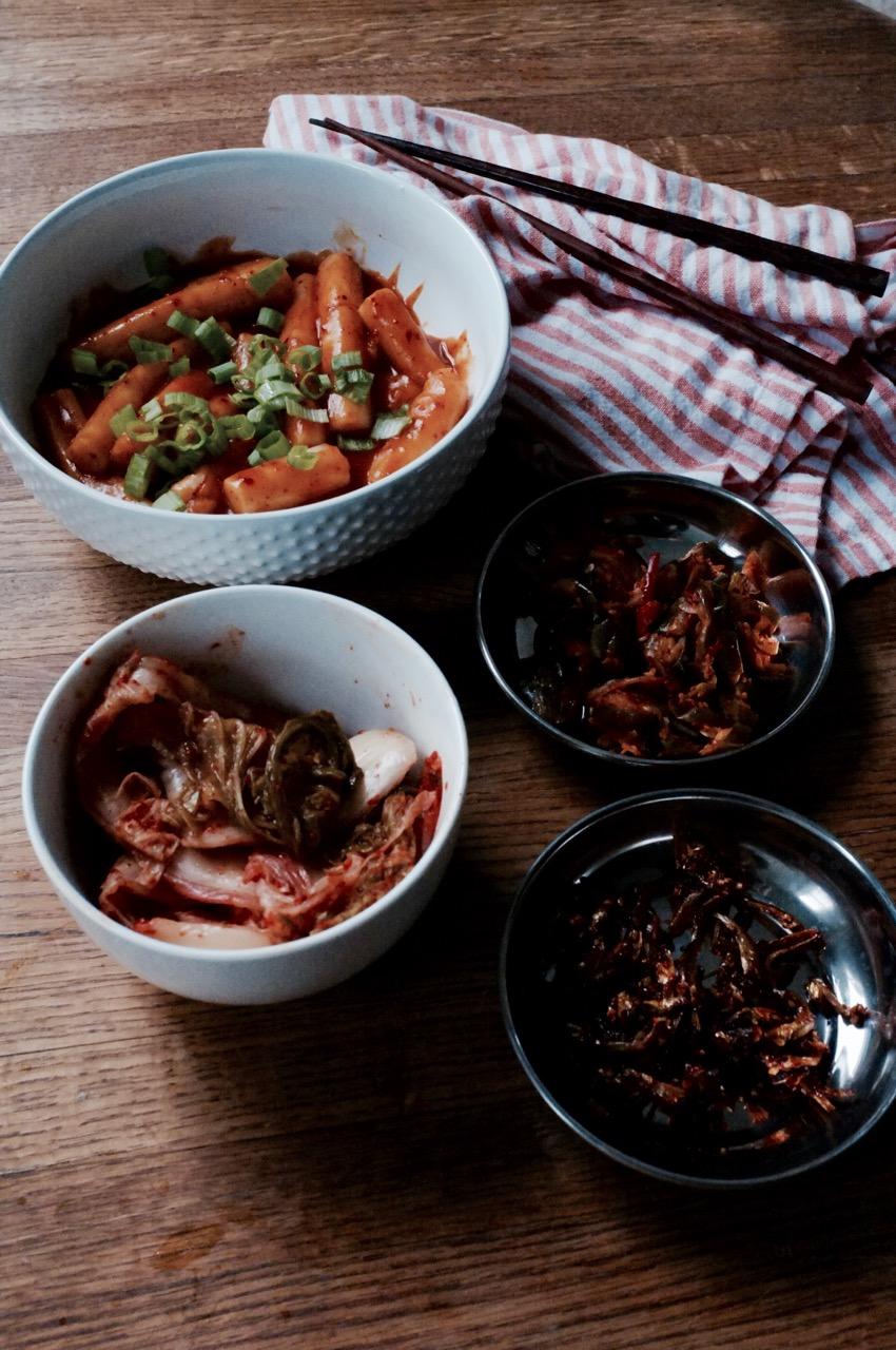 How to make Korean comfort food -- ddukbokki recipe by Hill Reeves