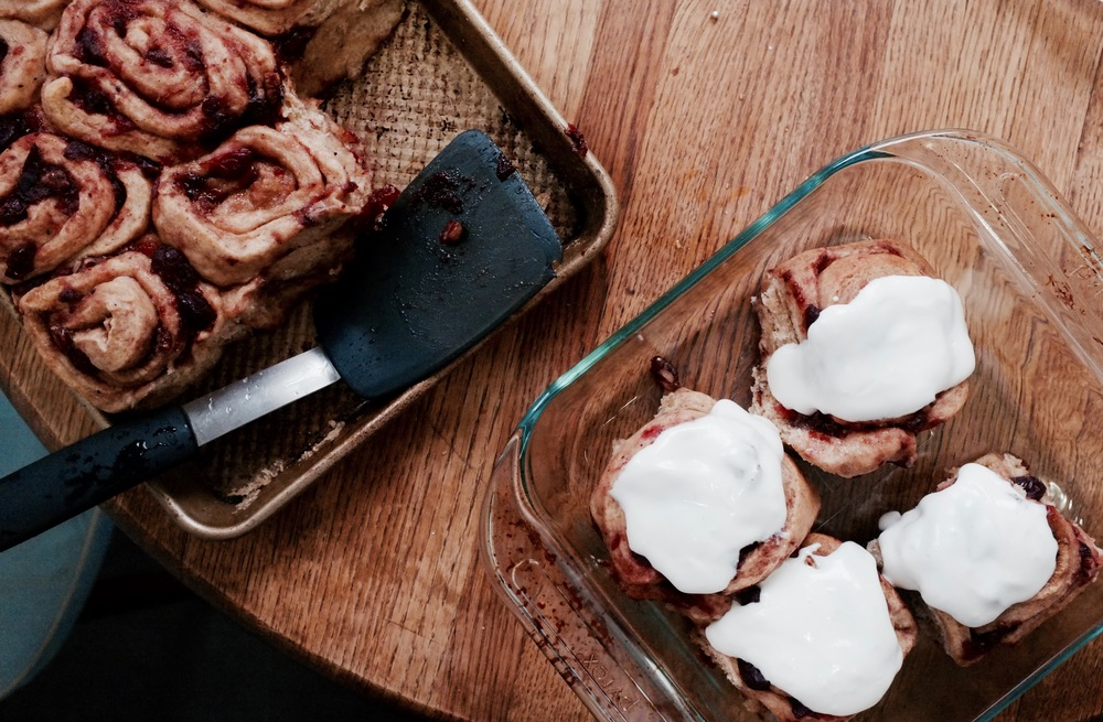 Cranberry Cinnamon Buns Recipe - Hill Reeves