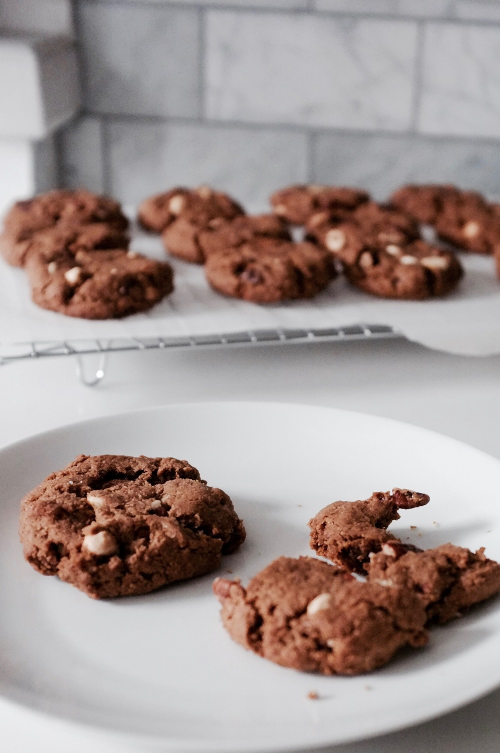 Last Minute Molasses Dump Cookies - Hill Reeves