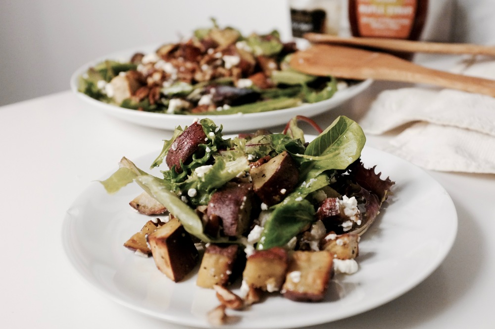 Sweet Potato and Pecan Salad - Hill Reeves