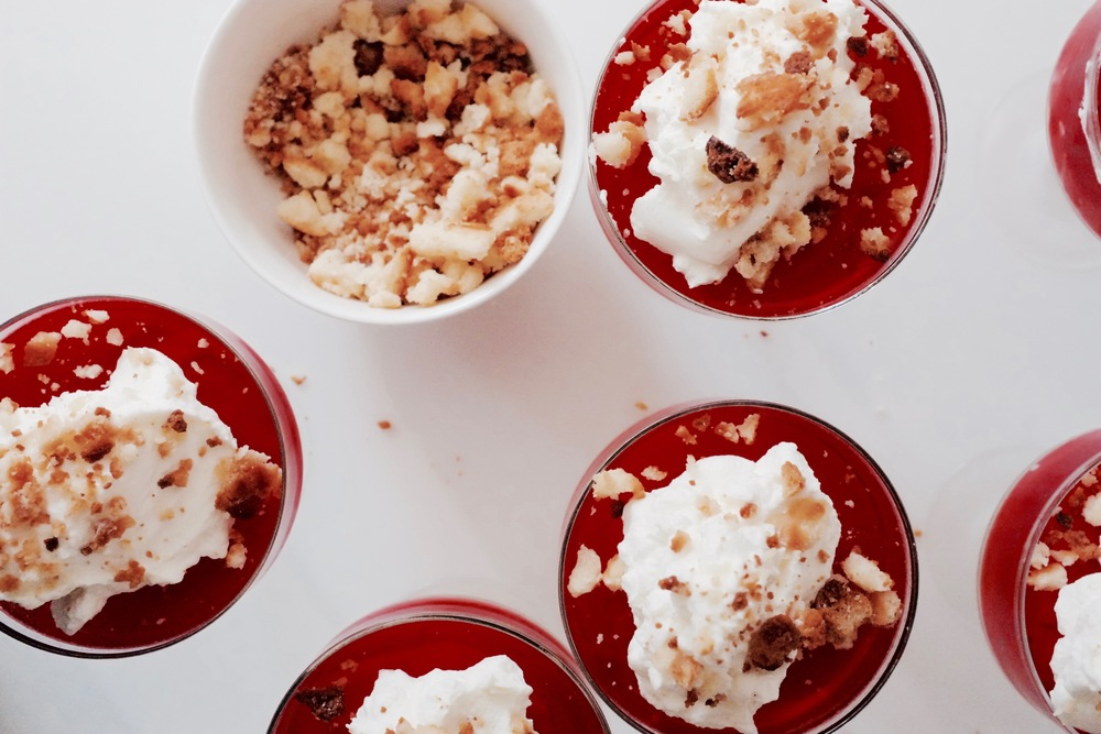Peanut Butter and Jelly Parfaits - Hill Reeves