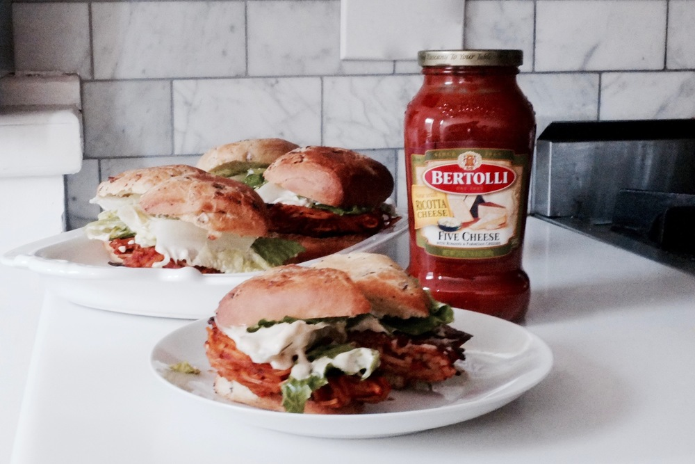 Spaghetti Sandwiches - Hill Reeves
