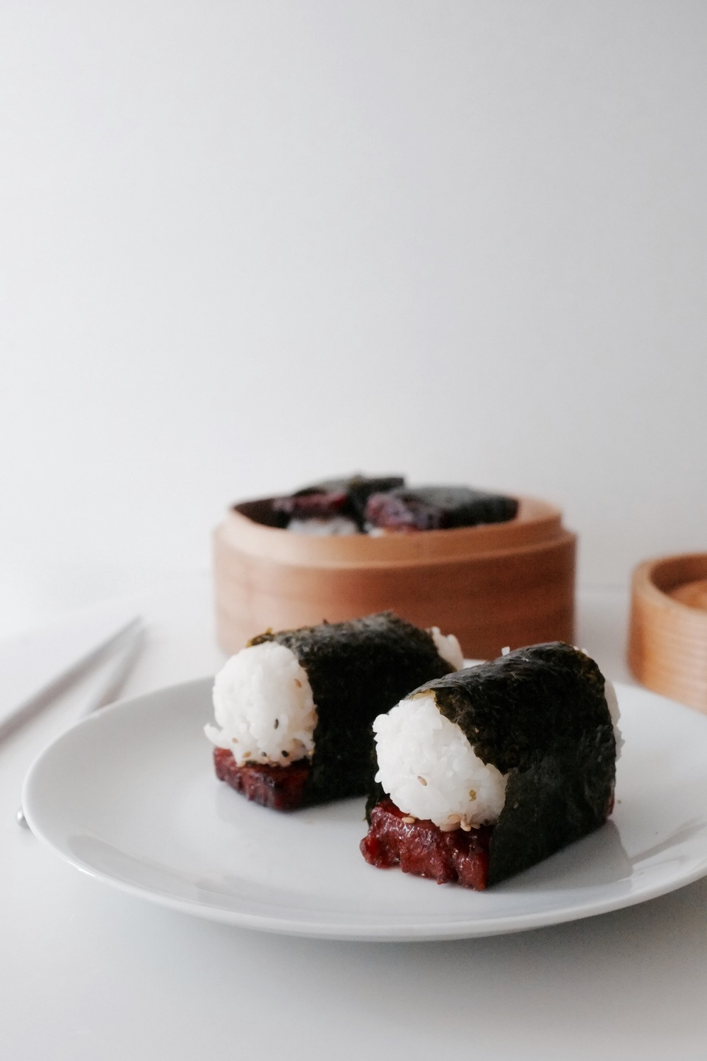 Spam Musubi - Hill Reeves