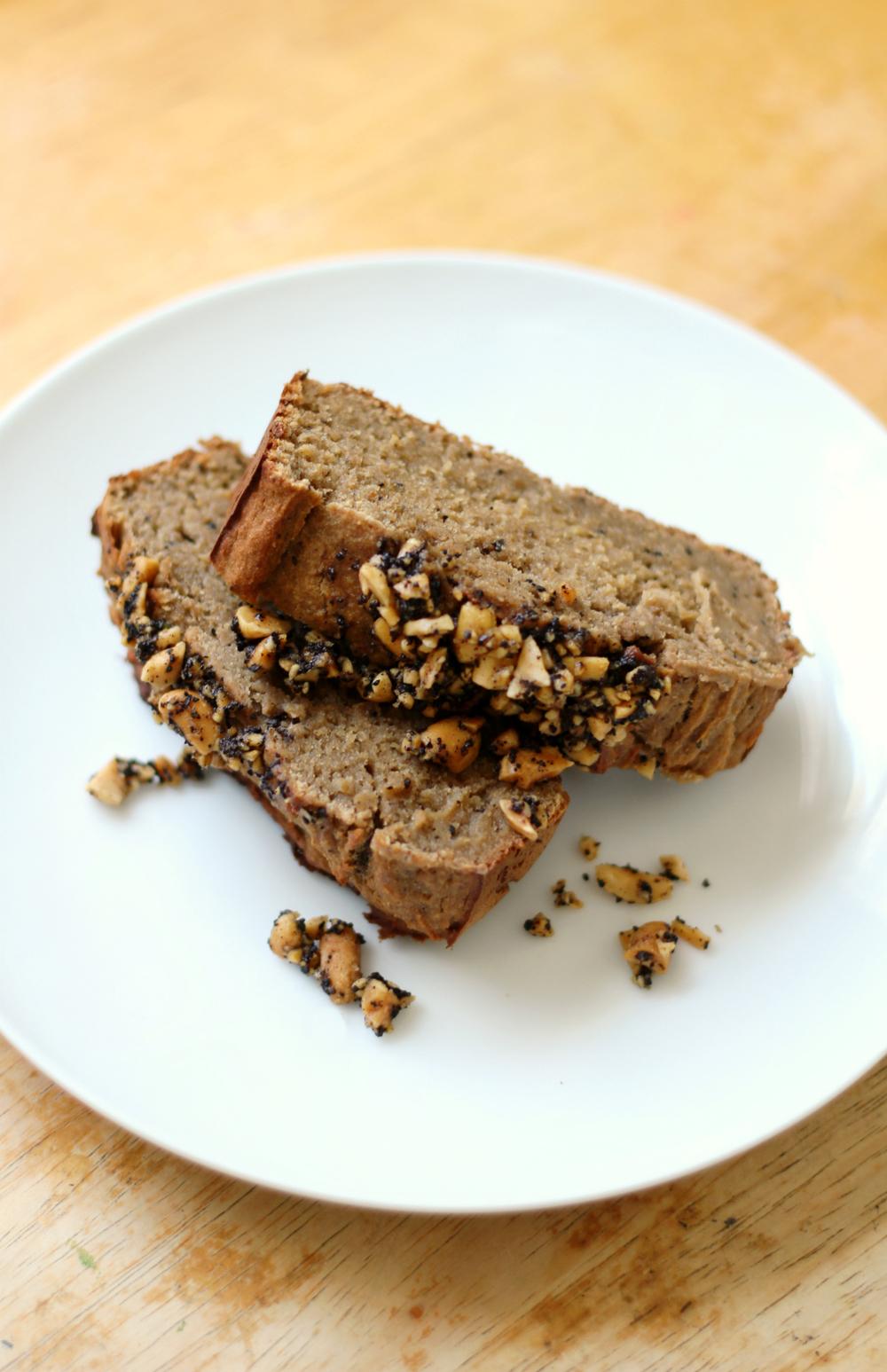 Peanut Butter Espresso Banana Bread