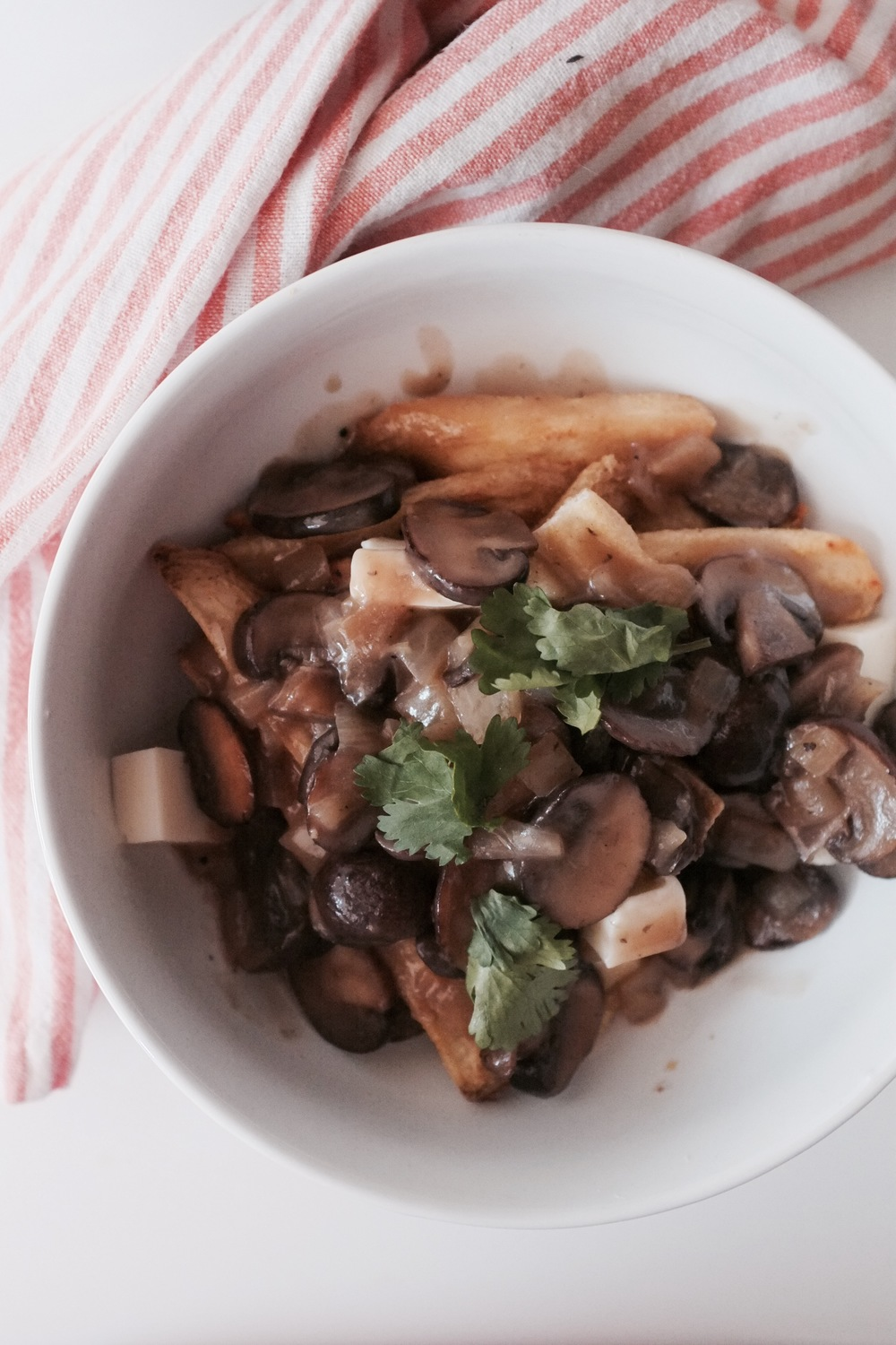 Vegetarian Poutine - Hill Reeves