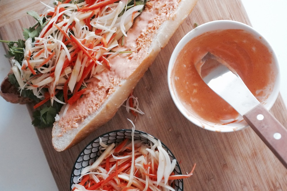 Chicken Banh Mi - Hill Reeves