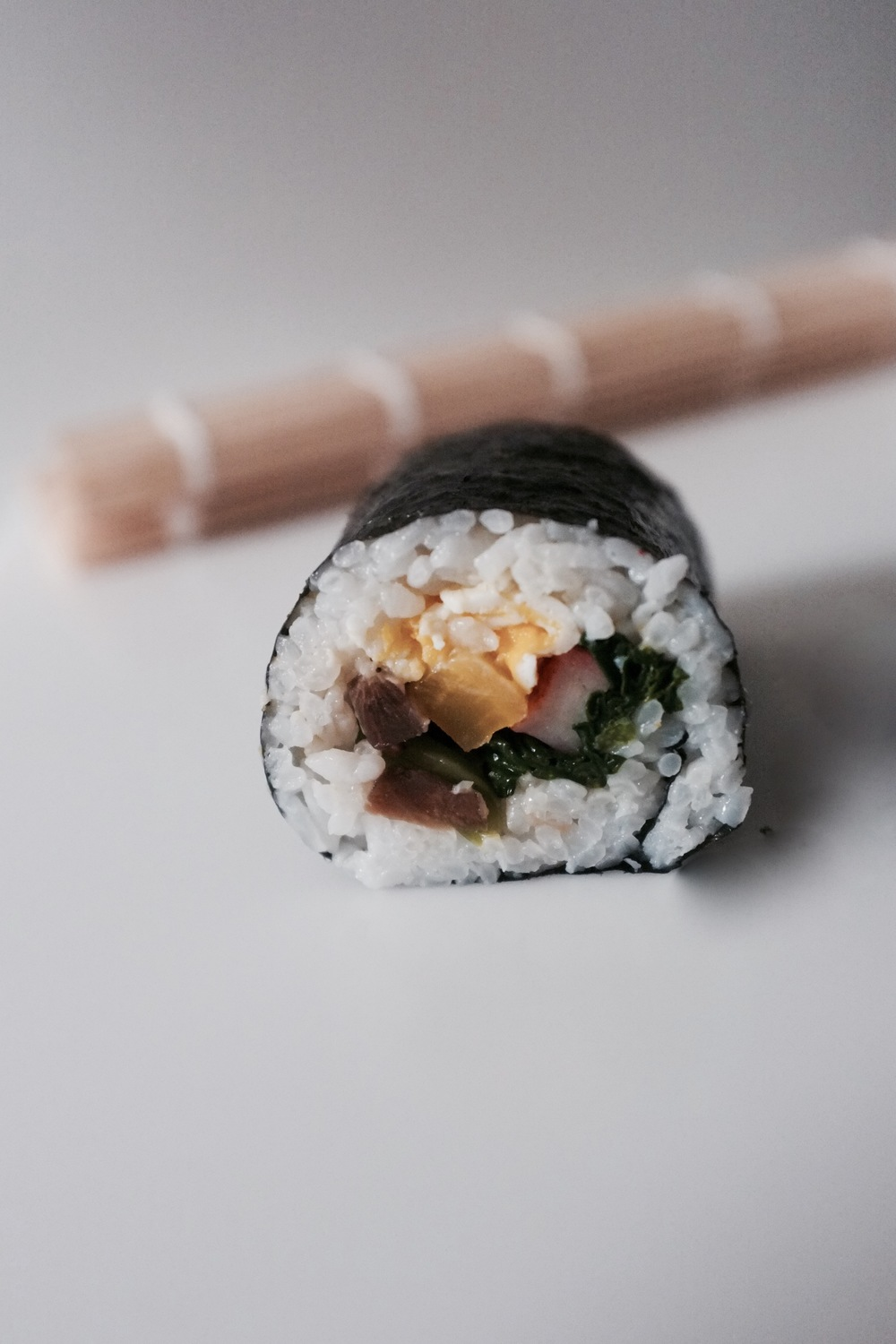 Kimbap (Korean Lunch Rolls) - Hill Reeves