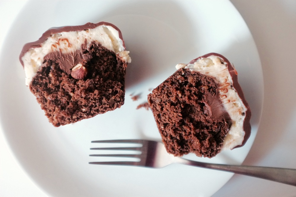 Ferrero Rocher Cupcakes - Hill Reeves