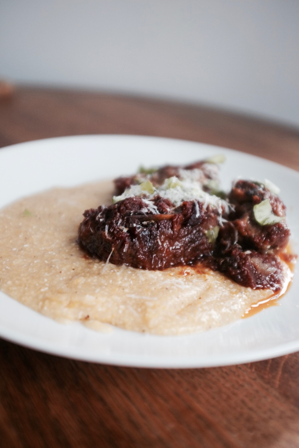 Braised Short Ribs with Creamy Polenta - Hill Reeves