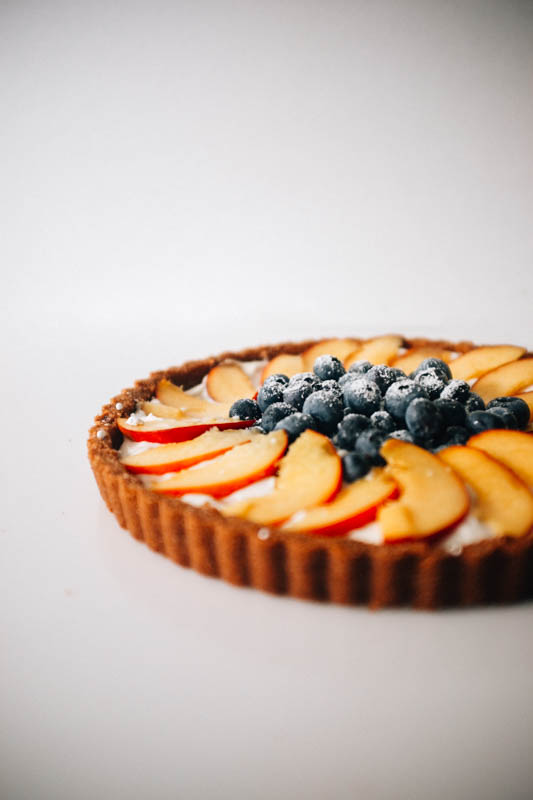 Summer Fruit Greek Yogurt Tart - Hill Reeves