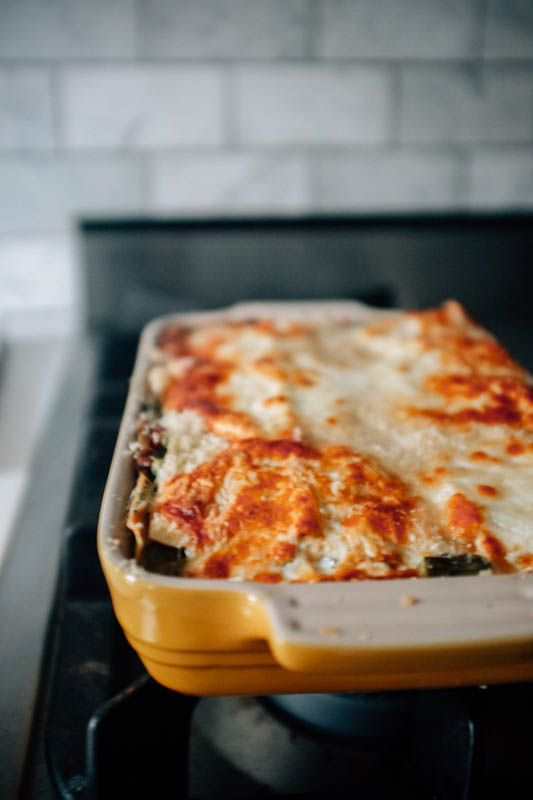 Summer Vegetable Lasagna - Hill Reeves