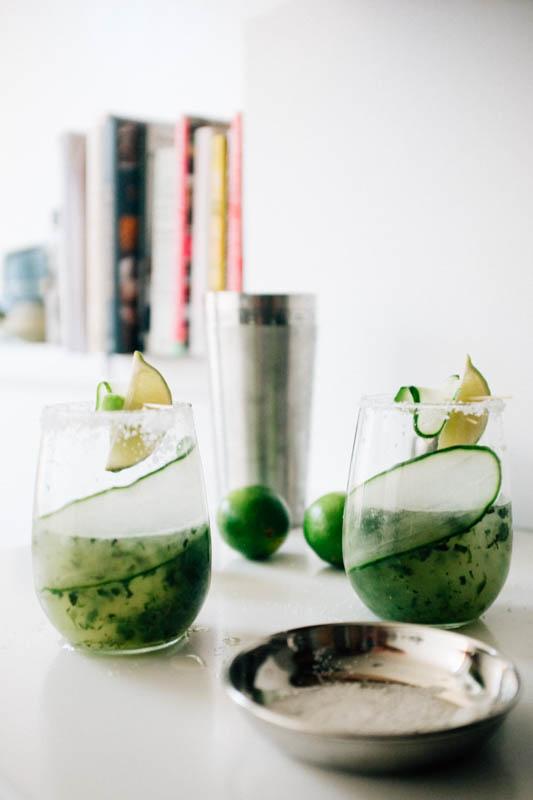 Cucumber Mojitaritas - Hill Reeves