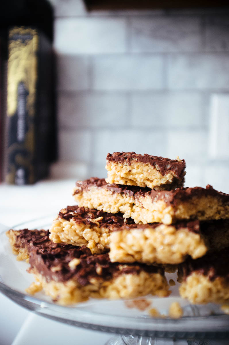 Tahini Cereal Treats - Hill Reeves