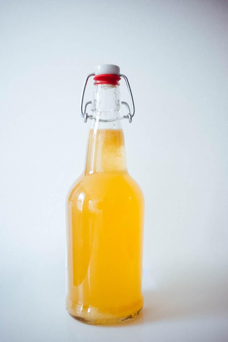 Ginger Lemon Kombucha - Hill Reeves