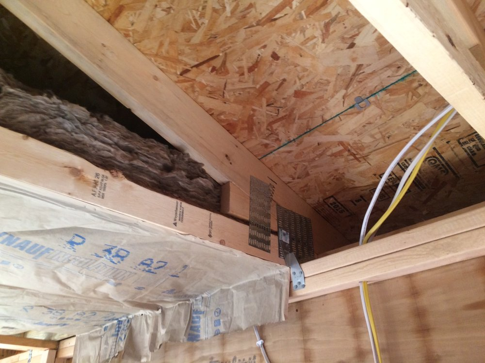 Construction journal venting the attic space golden for Off ridge vents