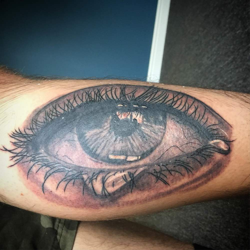 Eye Tattoo by Luke Jensen
