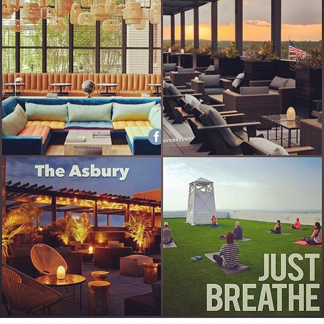 Summer Salutations! Join me and @lvlyoga at the brand new @theasburyhotel Aug 4-7th for our yoga and meditation retreat at the beach in Asbury NJ. Affordable and convenient the hotel is a 2 hour commute from the city by car or transit. Two yoga/meditation classes a day coupled with free time for beach and nightlife! Check out the digs and amazing write-ups at www.theasburyhotel.com and sign up at www.pureyoga.com and search workshops/retreats! 🌞🌊🏄⛵️🙏🏻👯🌭🍦🍹