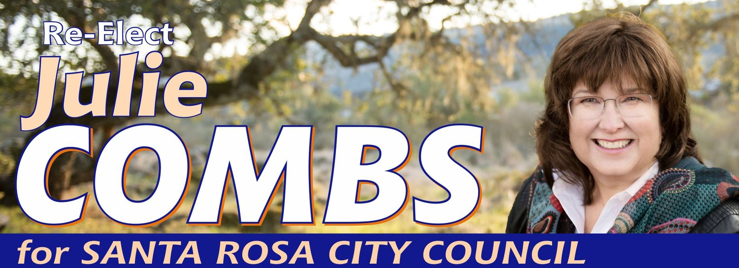 Julie Combs for Santa Rosa City Council