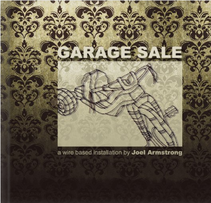 "This book documents my installation ""Garage Sale"""