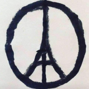 """Peace for Paris, Jean Jullien"