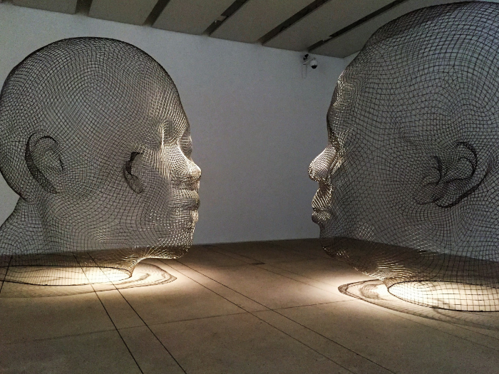 Awilda and Irma, Jaume Plensa