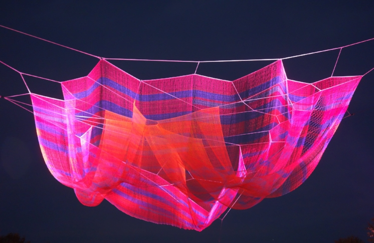 Where We Met,  Janet Echelman 2016