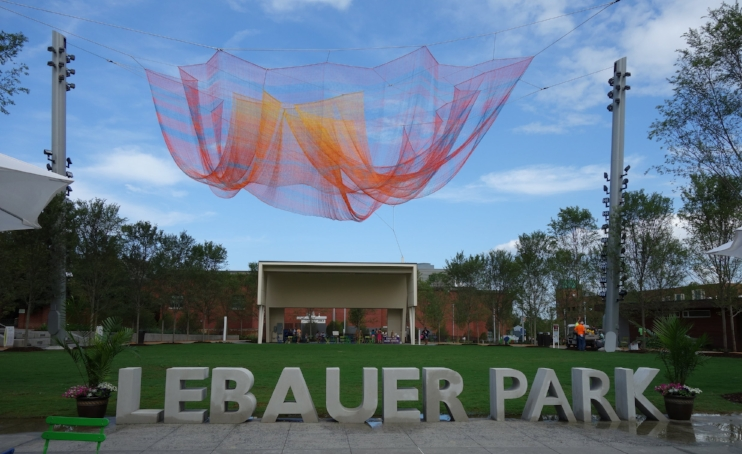 Where We Met,  Janet Echelman